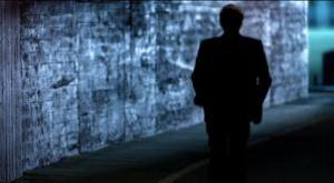 """Clint Eastwood emerging from the shadows in Chrysler's """"Halftime in America."""""""