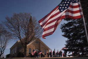 St. Patrick of Cedar Lake Catholic Church. The final resting place of Lance Cpl Dale Means.