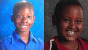 Peter Hobart Elementary School 4th graders Mohammed Fofana and Haysem Sani.  Both boys were killed in a land slide at Lilydale Regional Park in St. Paul, MN on May 23rd, 2013.