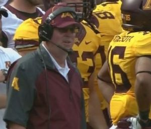 Minnesota Football Coach Jerry Kill