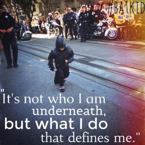 Batkid It's not who I am