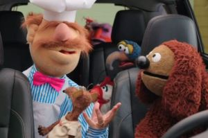 "Picture 2 - Swedish Chef telling fellow Muppets they're heading to the ""Sferndy Boom.""  (Super Bowl)"