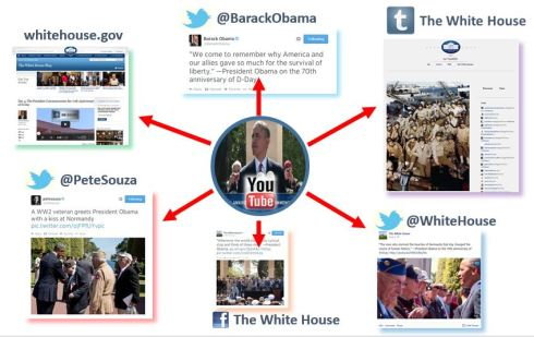 Figure 2 - The White House cross-channel integration profile.