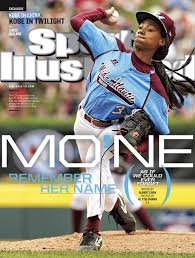 Mo'ne Davis on the cover of Sports Illustrated, August 19, 2014