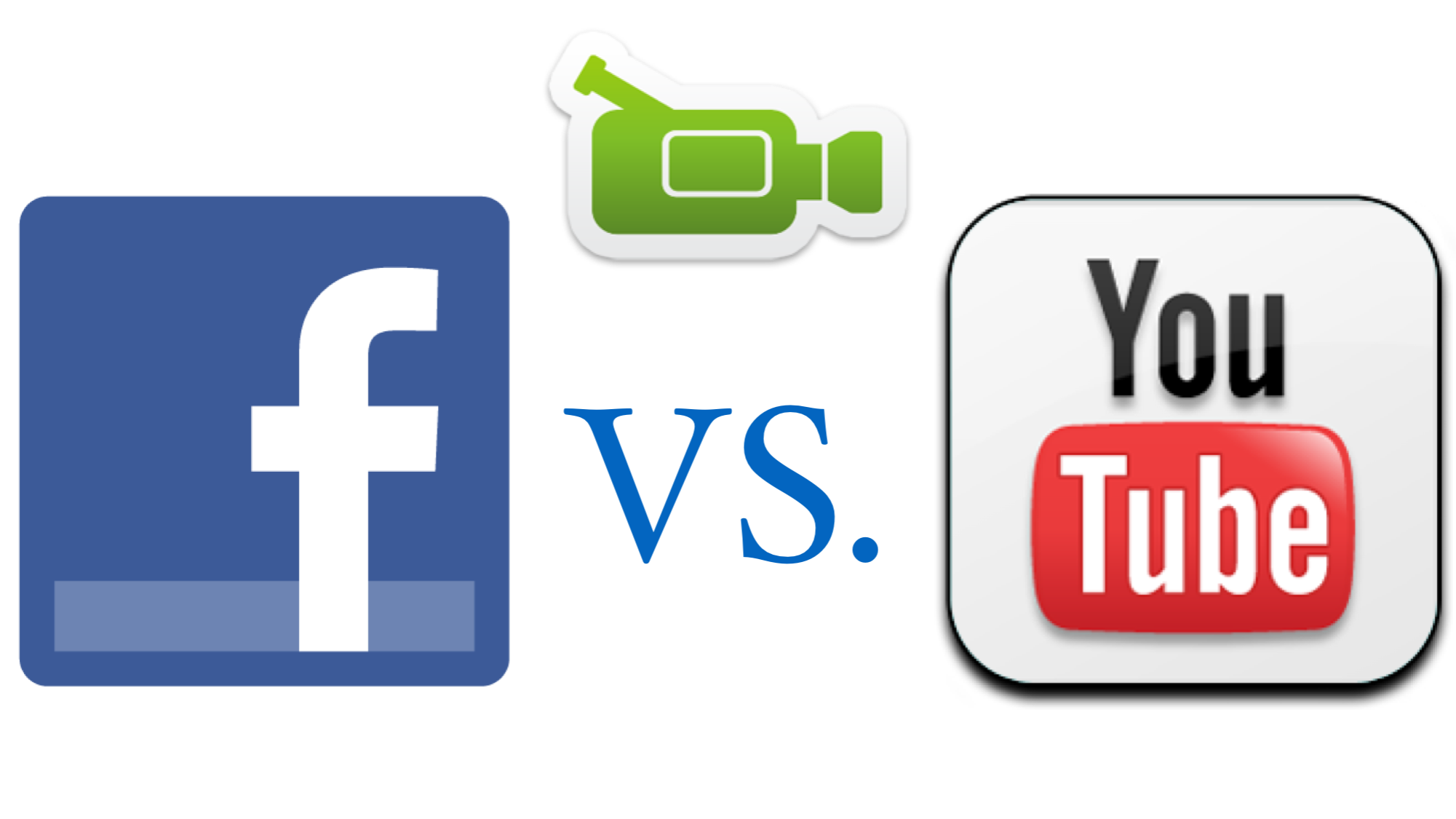 Facebook vs Youtube Graphic